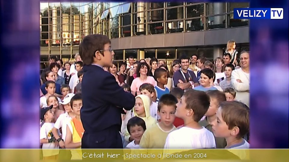 Spectacle à l'Onde en 2004