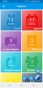 Application mobile Vélizy TV