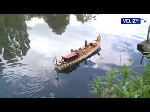 Bateaux à vapeur à Vélizy