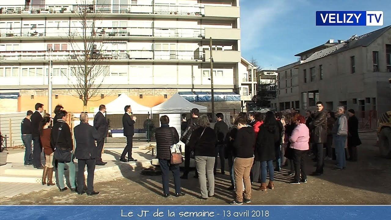 Le JT de Vélizy : 13 avril 2018