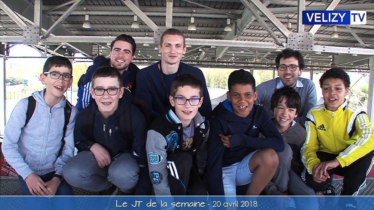 Le JT de Vélizy : 20 avril 2018
