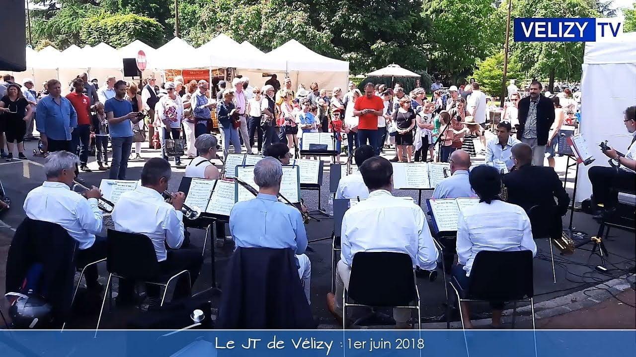 Le JT de Vélizy : 1er juin 2018