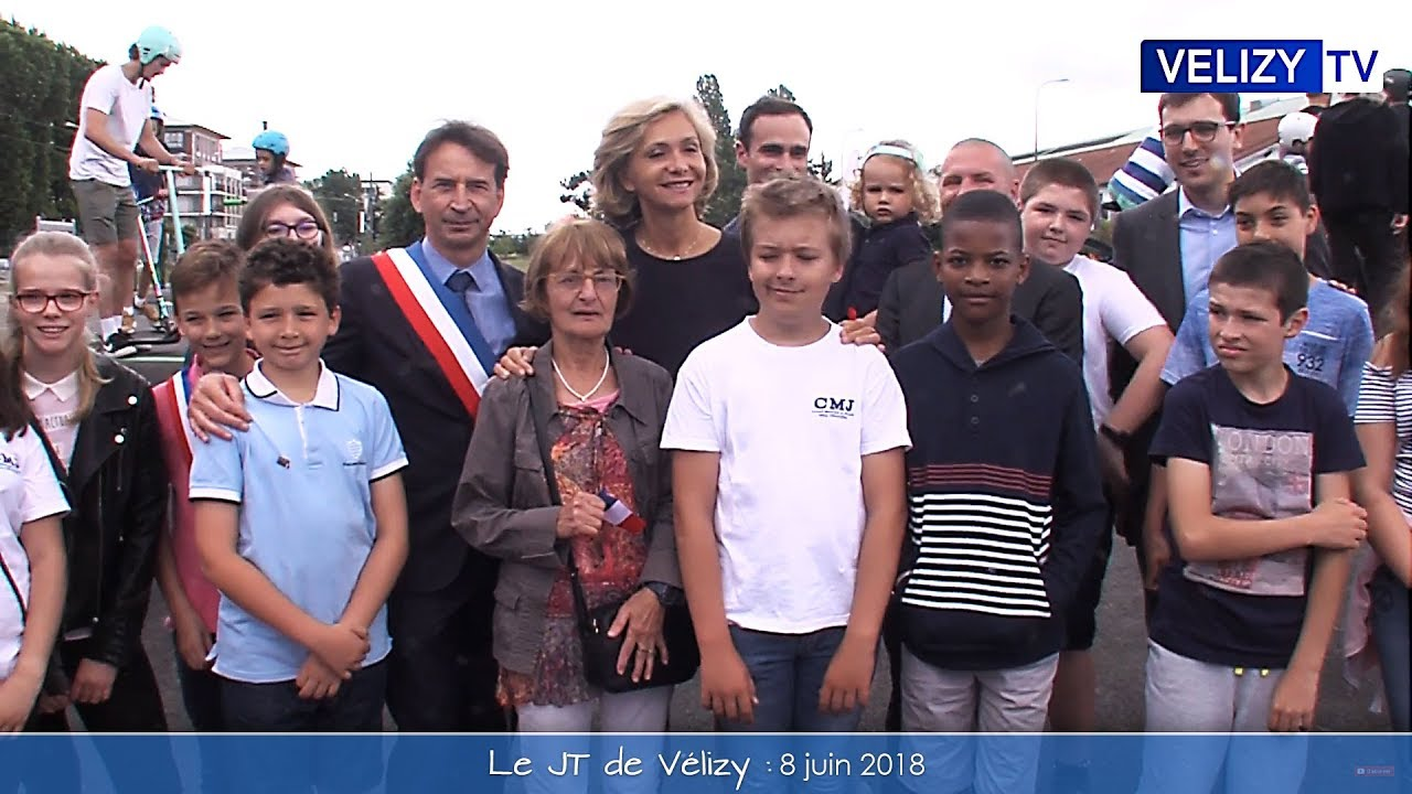 Le JT de Vélizy : 8 juin 2018