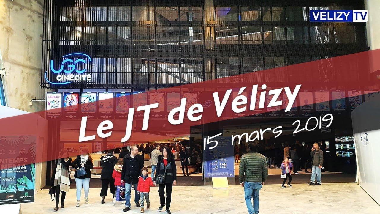 Le JT de Vélizy : 15 mars 2019