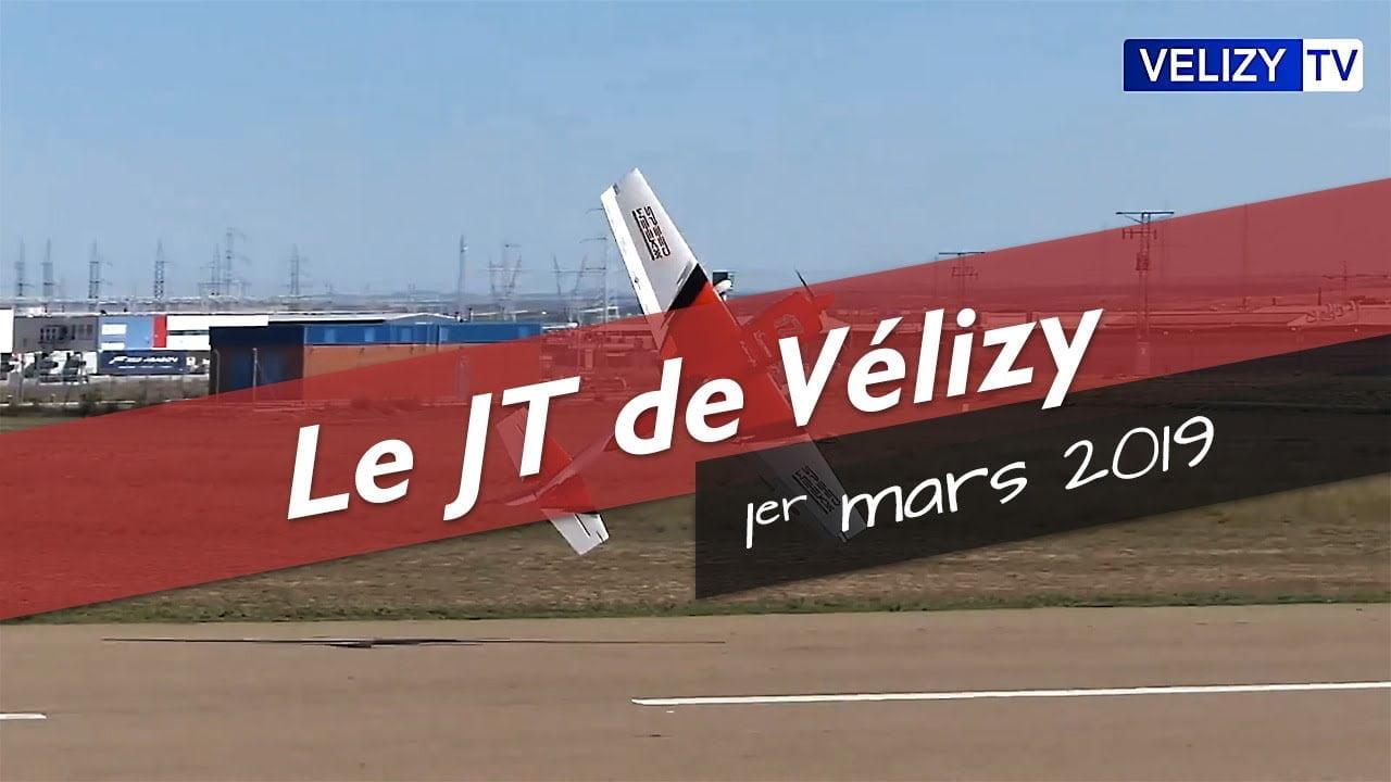 Le JT de Vélizy : 1er mars 2019